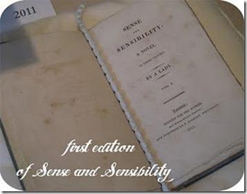 FirstEditionSense&Sensibility