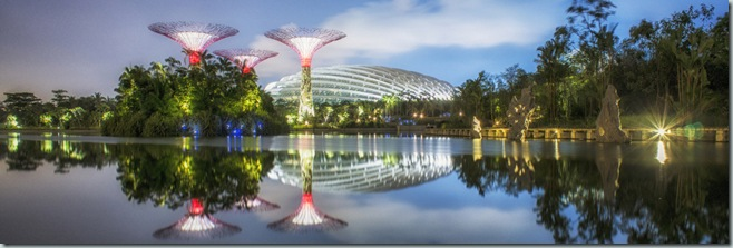Grant Associates celebrates Gardens by the Bay Success