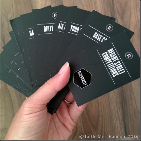 Regent Tweet cards