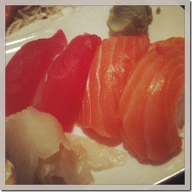 V-Day sushi