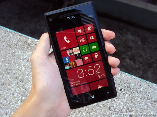 HTC Windows Phone 8X 5