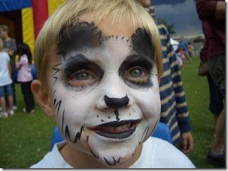 maquillaje de oso panda (2)