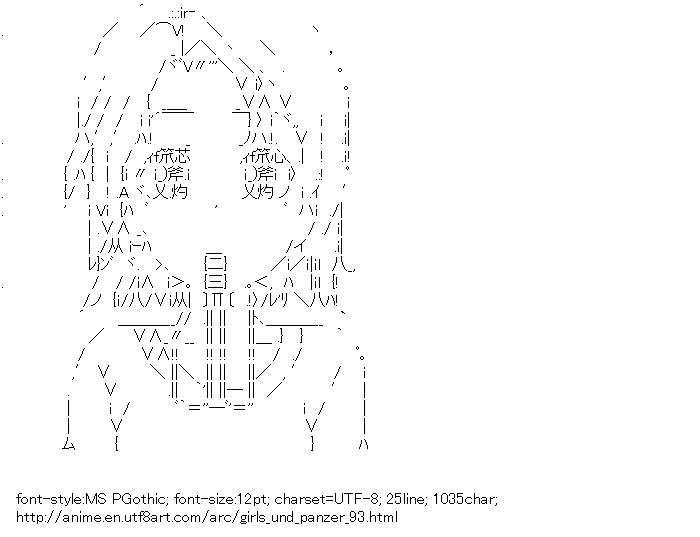 Girls und Panzer,Sawa Azusa