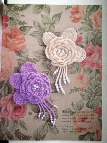 flor croche linda