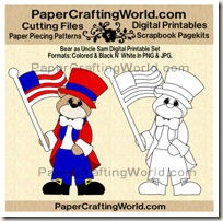 bear as uncle sam clr ppr-200