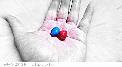 'Red Pill Blue Pill The Matrix' photo (c) 2013, Philip Taylor - license: http://creativecommons.org/licenses/by-sa/2.0/