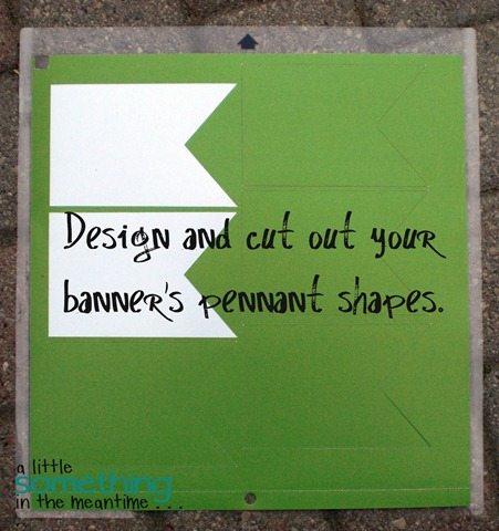 Design your pennant shape