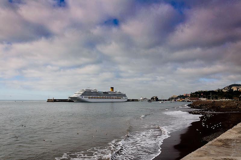 1. Канатная дорога. Фуншал. Мадейра. Круиз на Costa Concordia.