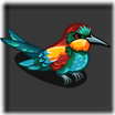 Banded Feather 100