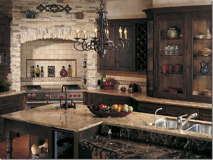 Tuscan-Kitchen-Stone