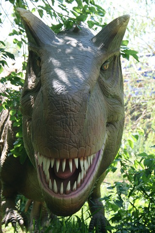 Cedar Point Dinosaurs Alive