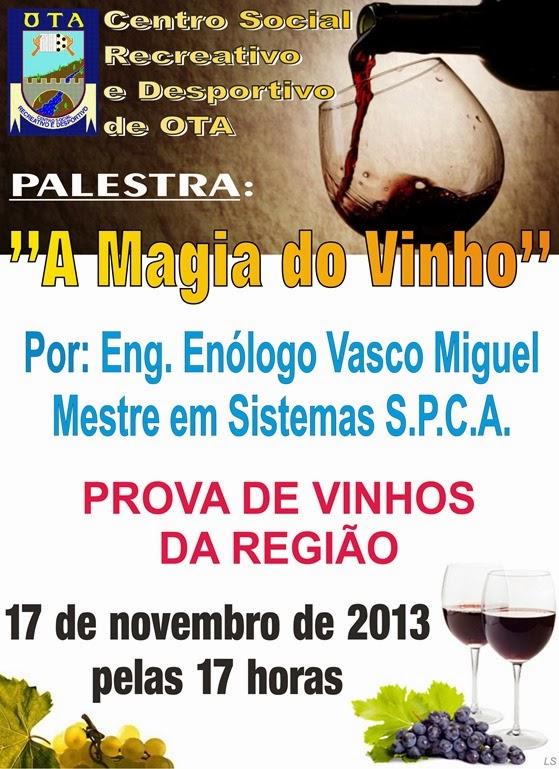 CSRDO - Palestra - A Magia do Vinho (2)