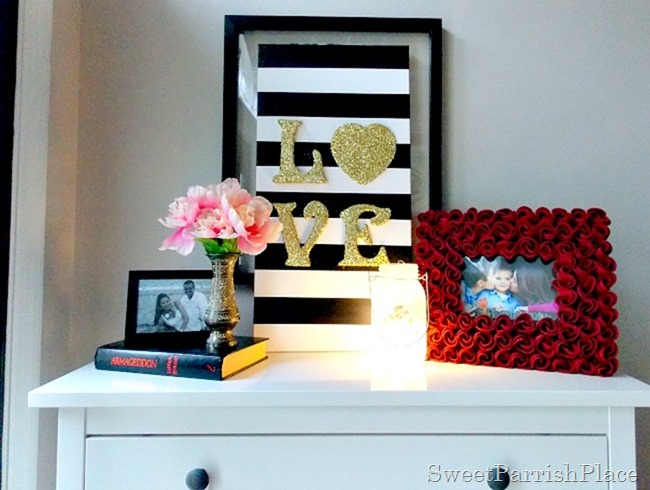 DIY Love Canvas Art4