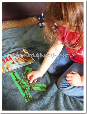 {Preschool Alphabet} K is for Keys
