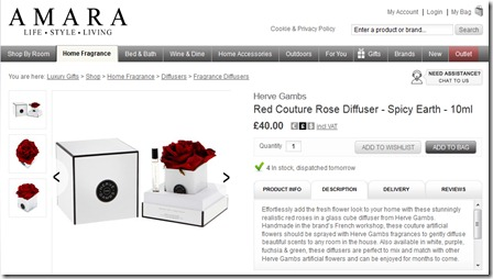 Amara Product Page