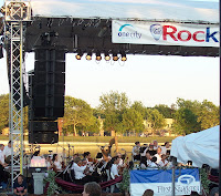 Rochester Philharmonic Orchestra played a free evening concert