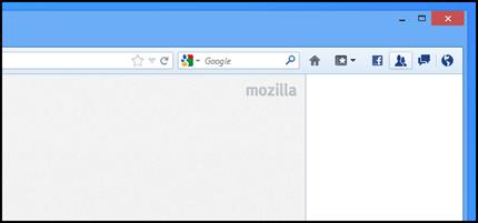 Facebook Firefox Integration