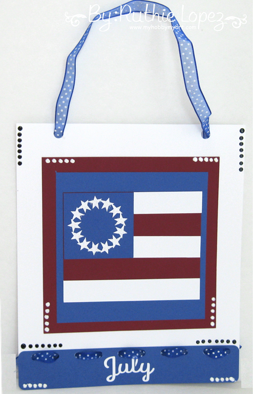 SnapDragon Snippets - 4 of July Banner -Ruthie Lopez - My hobby My Art