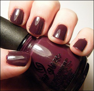 China Glaze Urban Night Swatch