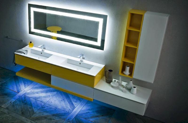 Signorini arredamenti mobili per arredo bagno su misura in for Arredo luce bologna