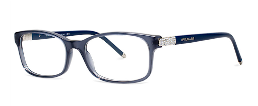 Still looking for a little something blue? This Bulgari pair from LensCrafters ($370) would be perfect!