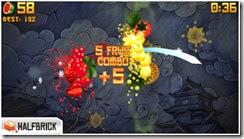 لعبة تقطيع الفواكه Fruit Ninja Free للأيفون والأيباد - 4