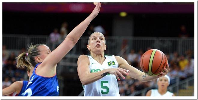Brasil x França - Basquete Feminino - Brasil x França - Inglaterra - 0 - Londres - Basketball Arena -  - www.inovafoto.com.br - id:21398