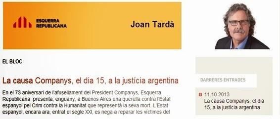 Joan Tardà blòg
