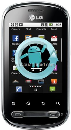 LG P350 CyanogenMod 7
