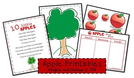 Free Apple Printables