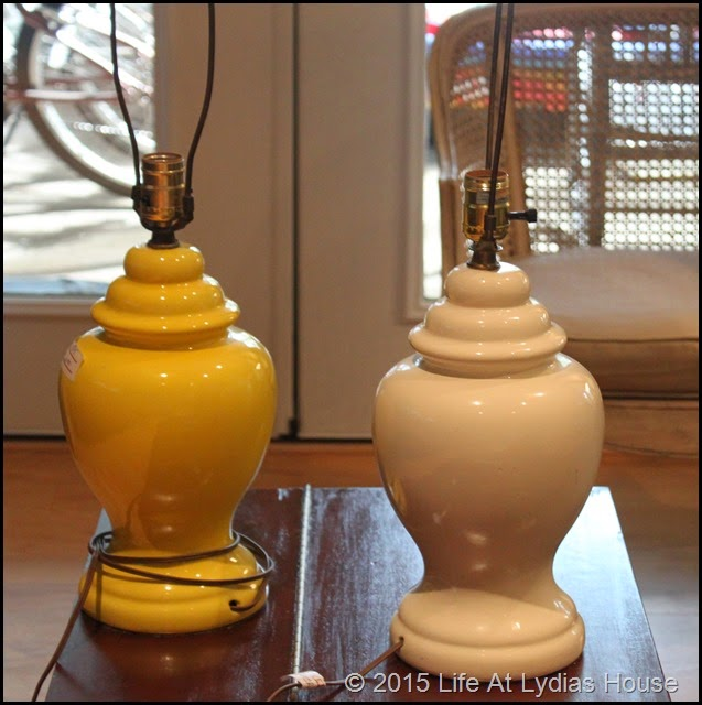 ginger jar lamps