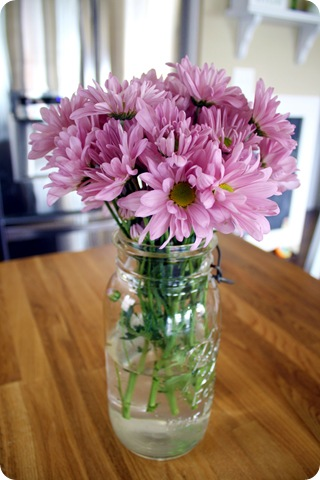 ball jar vase