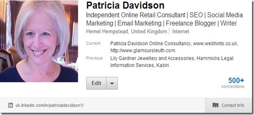 Patricia Davidson on LinkedIn