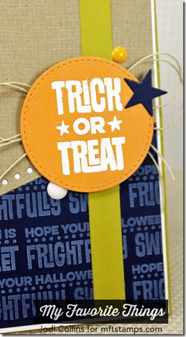 AUGUST MFT Trick or Treat Closeup