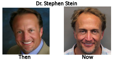 Dr. Stephen Stein - Then and Now