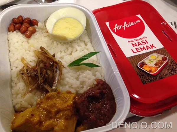 AirAsia Zest In Flight Meals Menu (8)