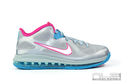 lebron9 low fireberry 01 web white The Showcase: Nike LeBron 9 Low WBF London Fireberry