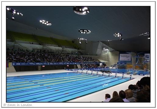 Swimming Lanes Olympic Aquatics Centre