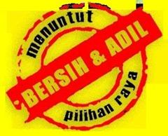 bersih adil logo