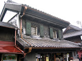One of just a few dozen surviving Kurazukuri (fireproof storehouses) from the 1700s in Kawagoe