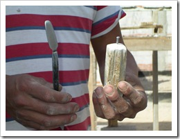Mason's tool 002