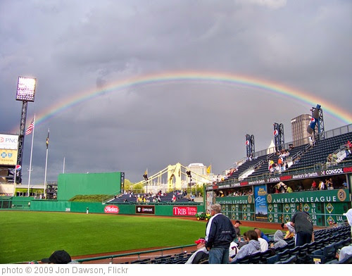 'Rainbow over PNC Park' photo (c) 2009, Jon Dawson - license: https://creativecommons.org/licenses/by-nd/2.0/
