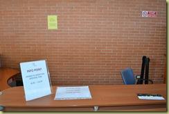 Entrance Desk