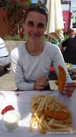 typisches Kiwi Essen: Fish and Chips