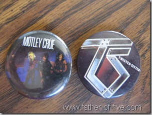 Heavy Metal pins