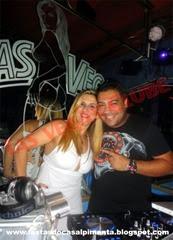 Sra Pimenta e Deejay Brinquinho da Beat 98