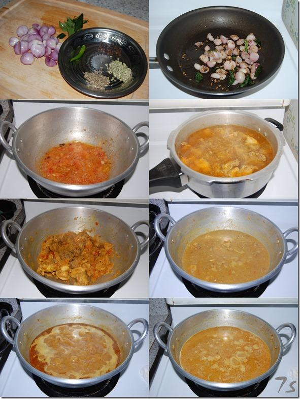 Naattu kozhi kuzhambu process