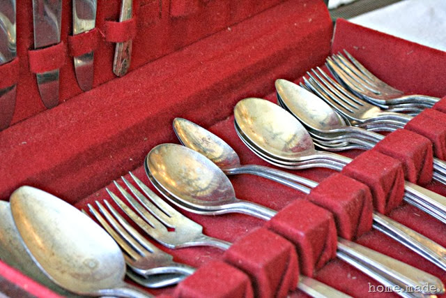 home.made. Family Heirlooms Silverware