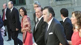 Invitados boda Aznar-Agag