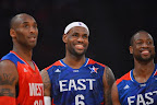 lebron james nba 130217 all star houston 39 game 2013 NBA All Star: LeBron Sets 3 pointer Mark, but West Wins